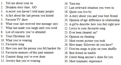 Ask me any number