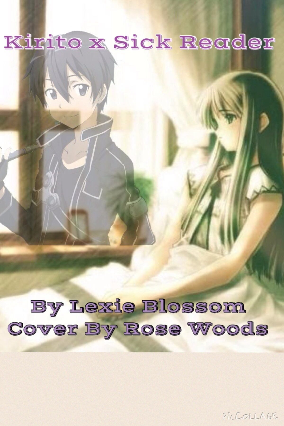 Kirito x Sick Reader Cover - Movellas